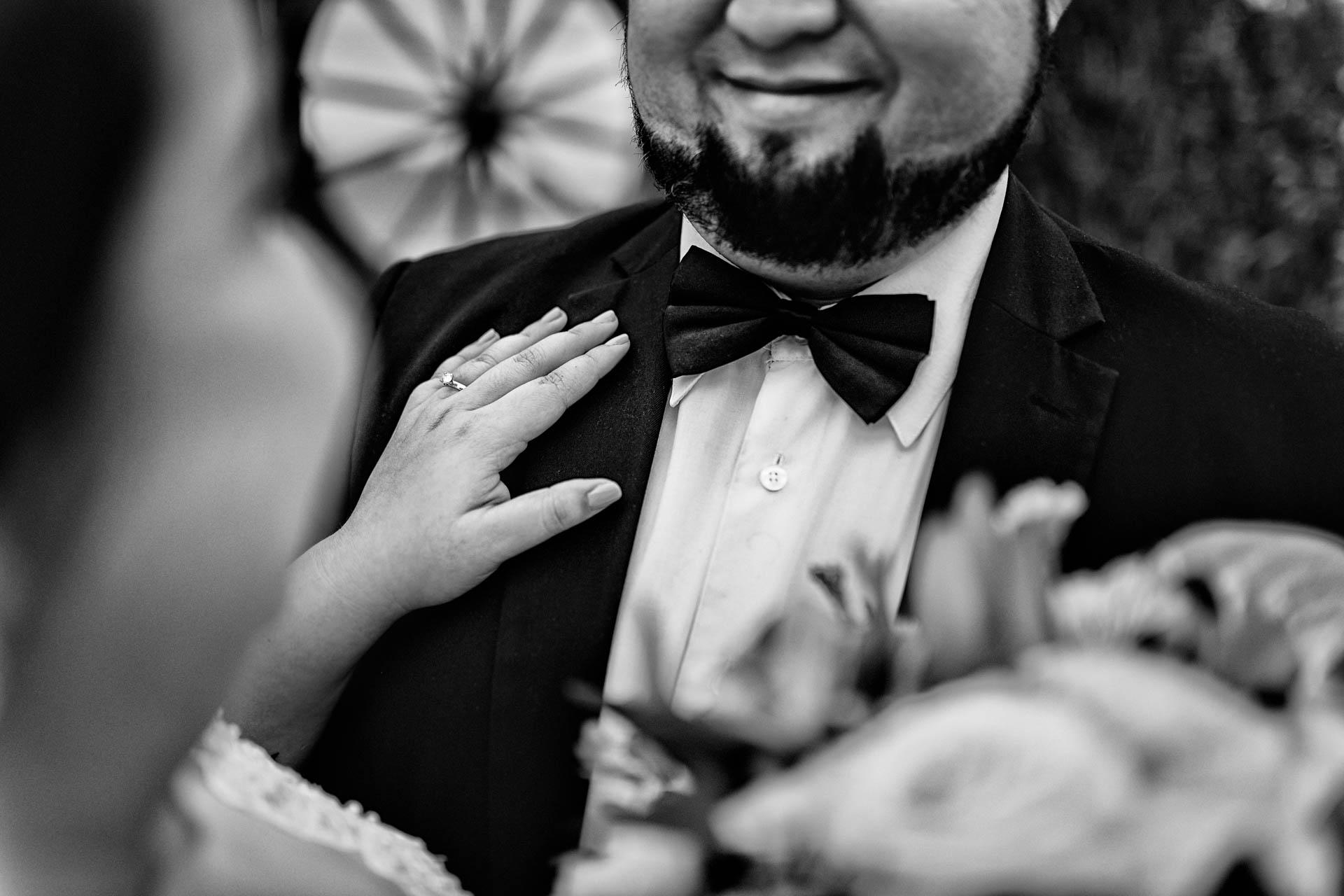 Fotografia de Boda - Foto de la sonrisa del novio