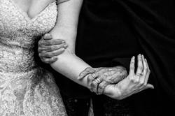 Fotografia de Boda - Foto de la abuela abrazando a la novia