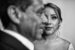 Fotografia de Boda - foto de la novia con su papa