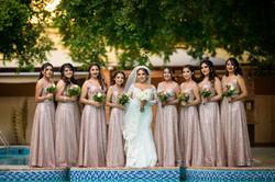 Fotografia de Boda - Foto de la novia y las damas