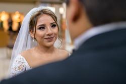 Fotografia de Boda - Foto de la novia llorando en la misa