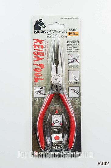 คีมปากแหลม Keiba Japan T-316