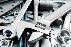 wrenches and tools