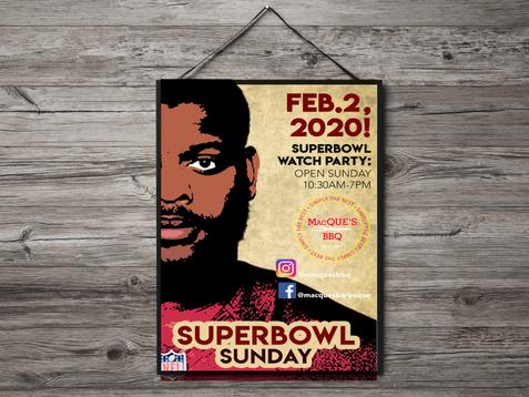 Superbowl sunday 2