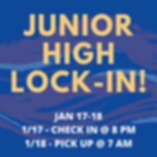 JAN 17-18 1_17 - CHECK IN @ 7 PM 1_18 -
