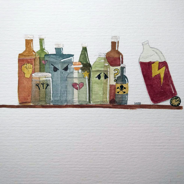 Bottled up (sold)