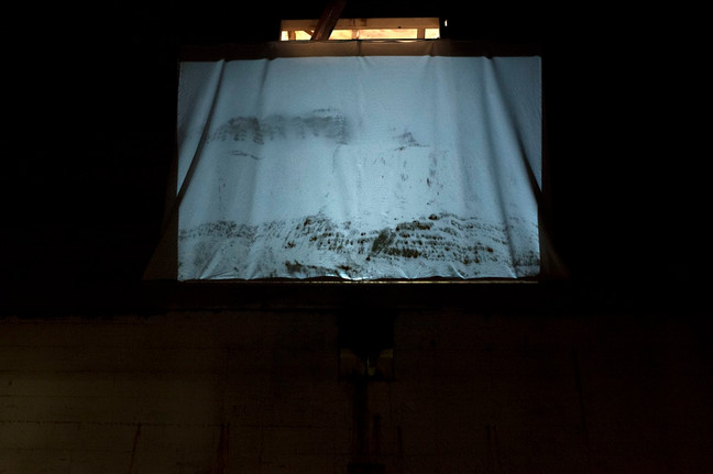Install view - projection