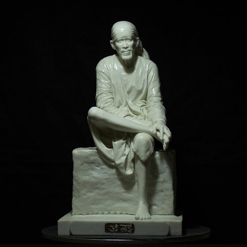 14.5 inch Shirdi Sai Baba Sculpture