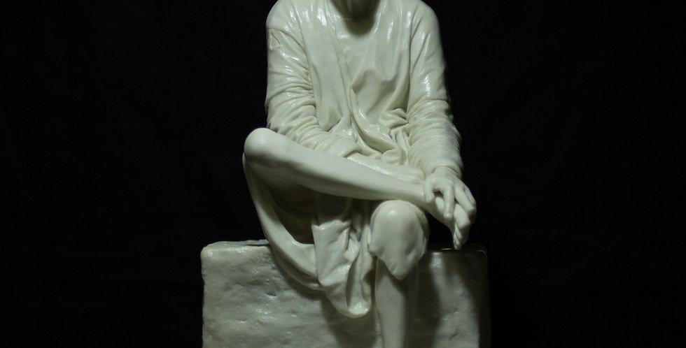 14.5 inch Shirdi Sai Baba Sculpture