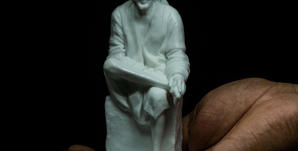 5 Inch Shirdi Sai Baba Resin