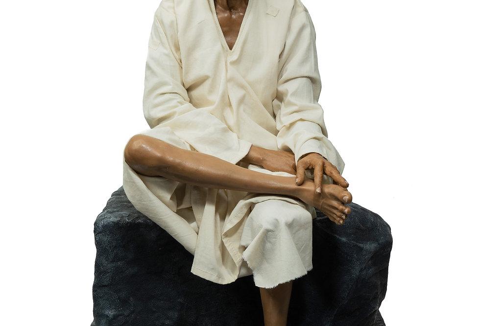 1/3rd Scale Shirdi Sai Baba Sitting Posture