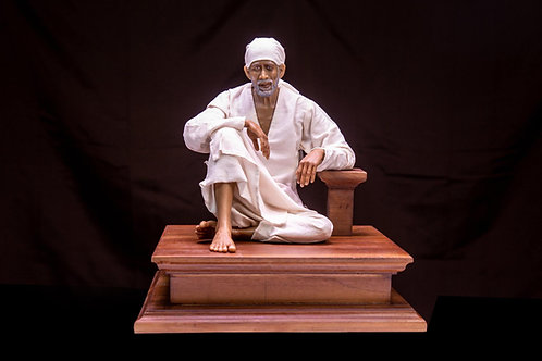 Shirdi Sai Baba Dwarakamayi posture - 1/4th scale
