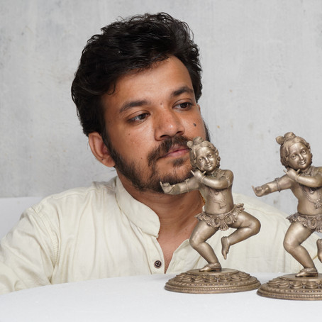 Vineesh Vijayan: The Young Man Who Chased Down The Sculptor In Him