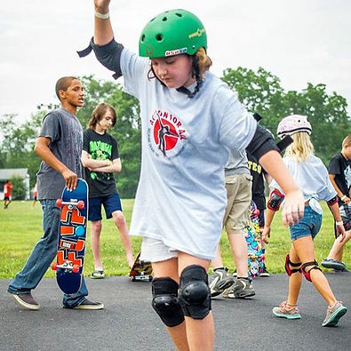 Action for All Skateboard Trip