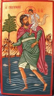 Christopherus in Rosa