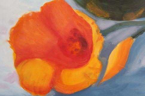 Still Life Flower Oil