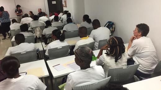 Special Olympics Haiti and Delaware Coac