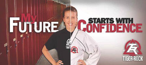 My Future Starts with Confidence at Tiger-Rock Martial Arts and Fitness