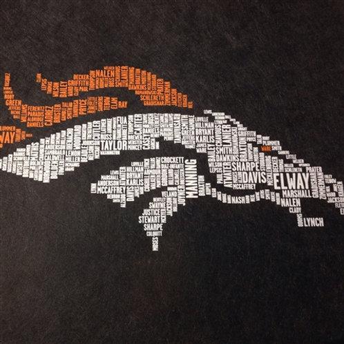 Broncos t-shirt