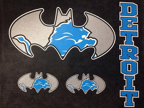 Lions batman t-shirt
