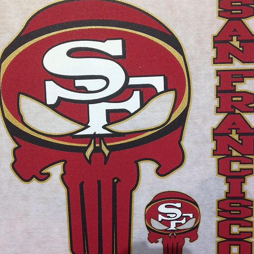49ers punisher t-shirt