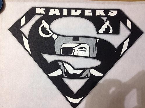 Raiders superman t-shirt