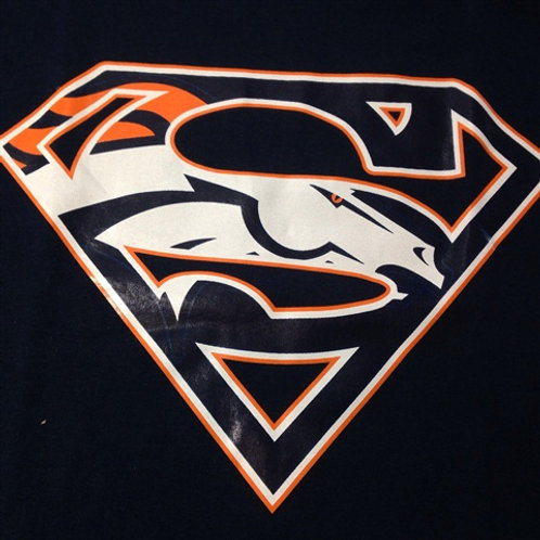 Broncos superman t-shirt