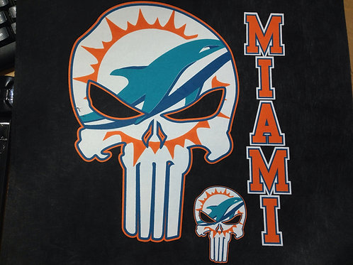 Dolphins punisher t-shirt