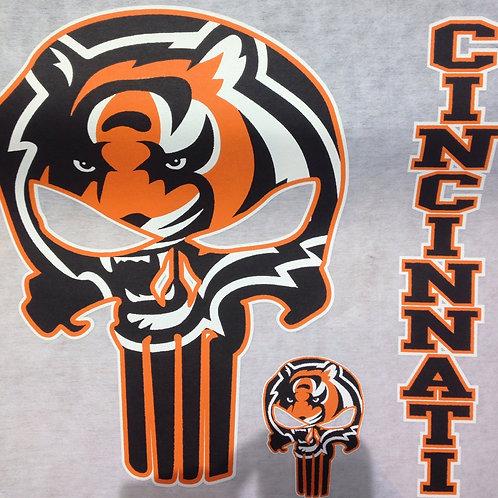Bengals punisher t-shirt