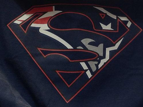Patriots superman t-shirt