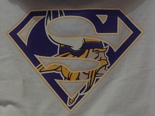 Vikings superman t-shirt
