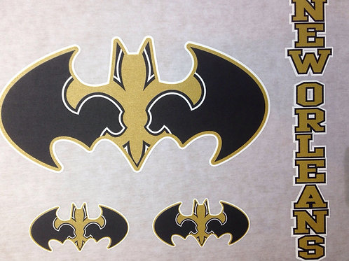 Saints batrman t-shirt