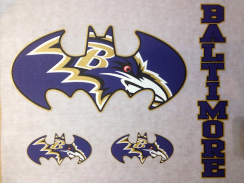 Ravens batman t-shirt