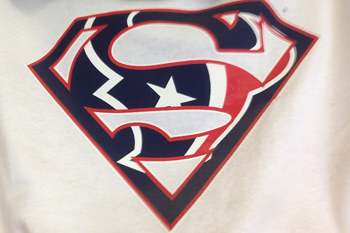Texans superman t-shirt