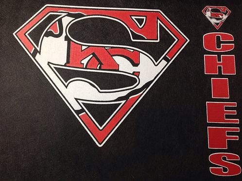 Chiefs superman t-shirt