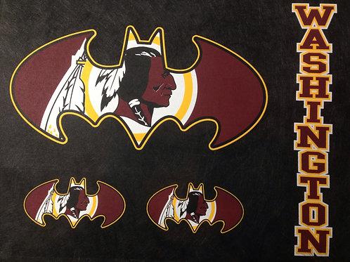 Redskins batman t-shirt
