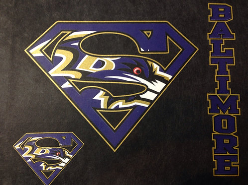 Ravens superman t-shirt