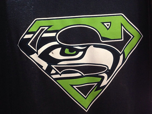 Seahawks superman t-shirt