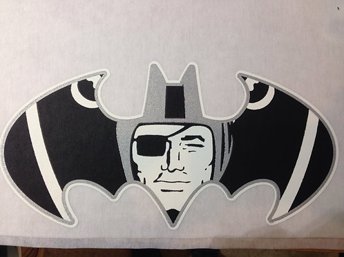 Raiders batman t-shirt