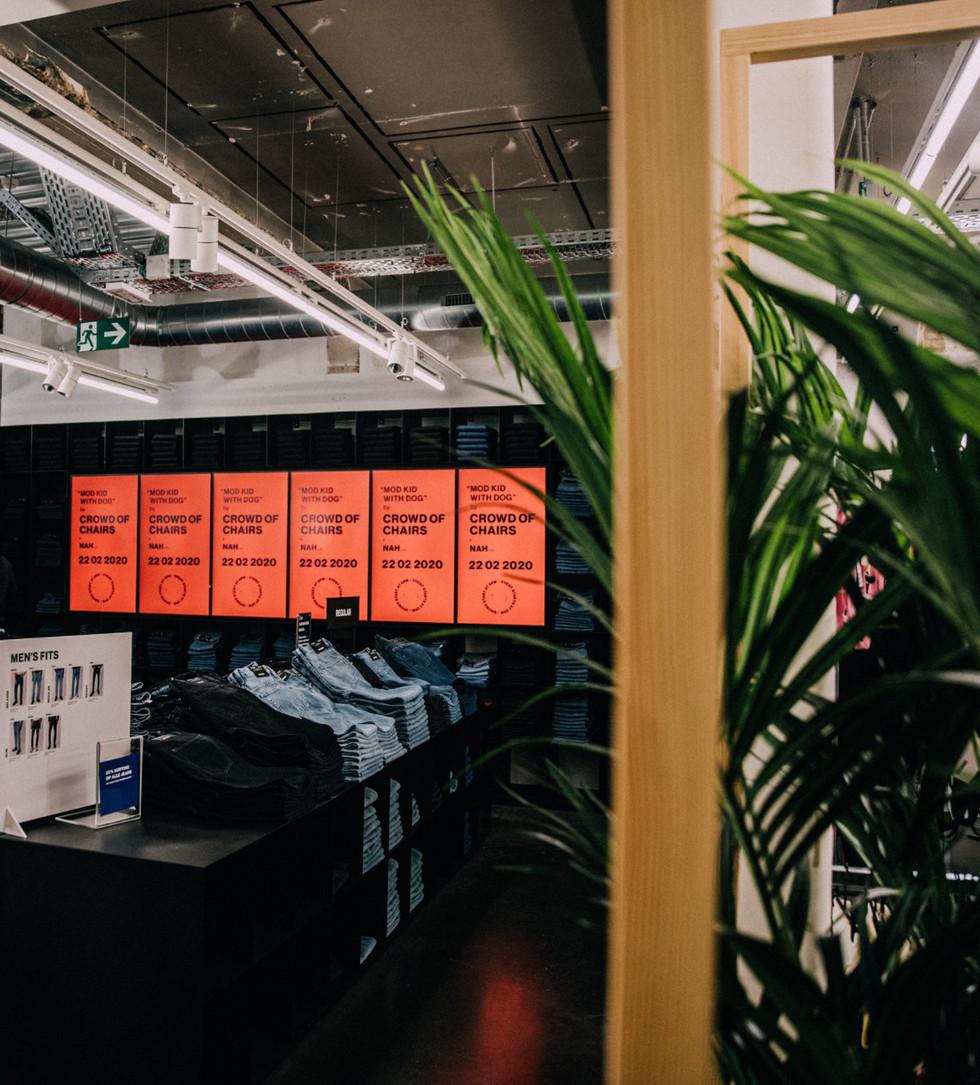 Digitalt - Butiksskärmar