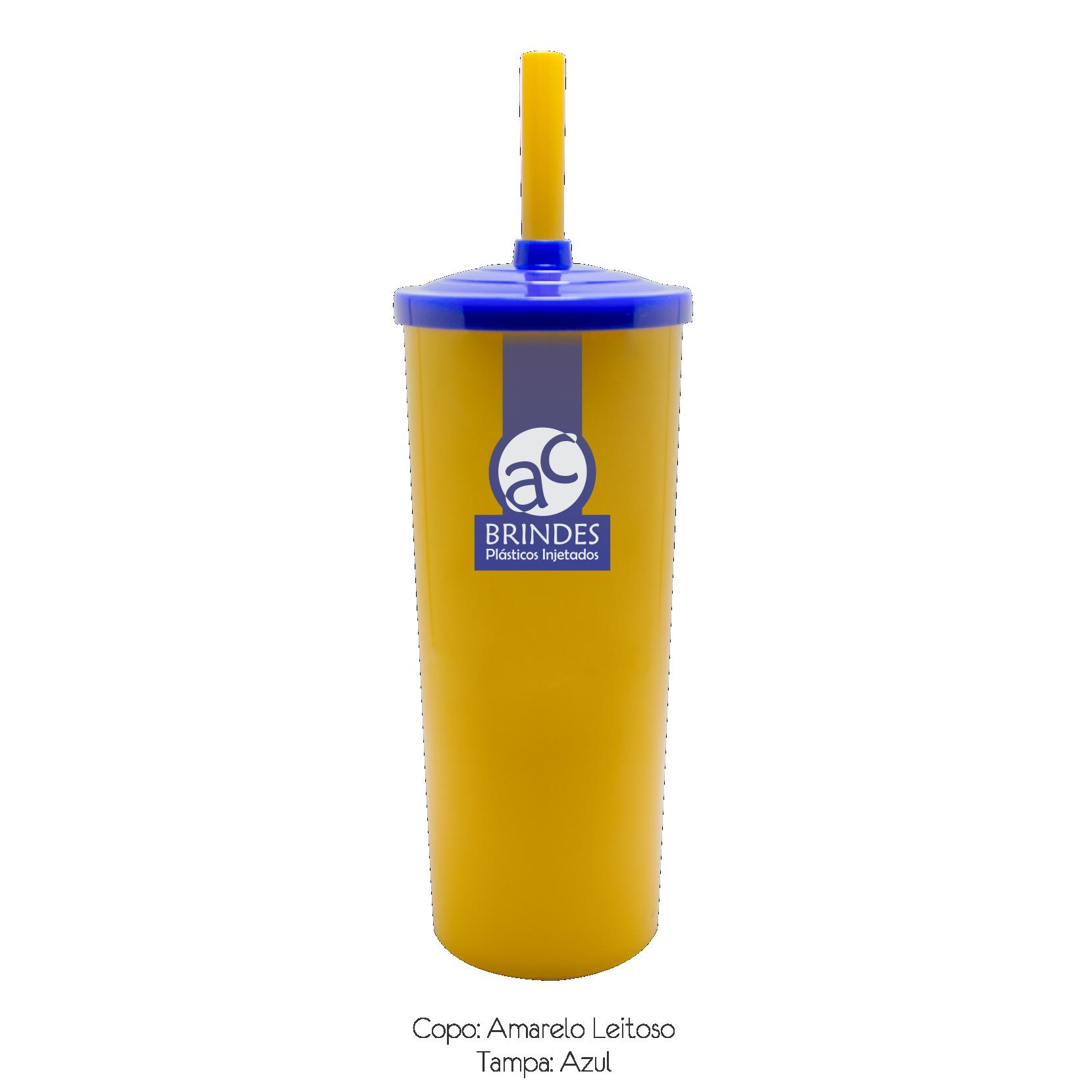 Amarelo Leitoso - Azul 2
