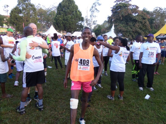 Event - Leopold Runs the Masaka Marathon