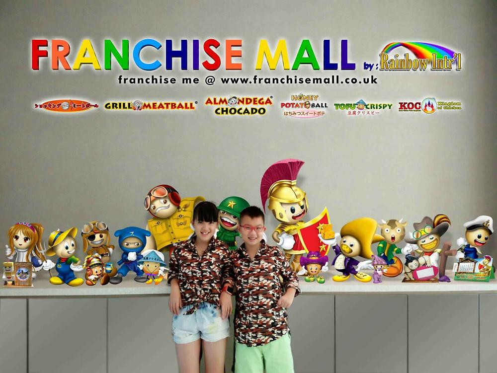 Franchise Mall : Joe Clarence & Jocelyn Calista