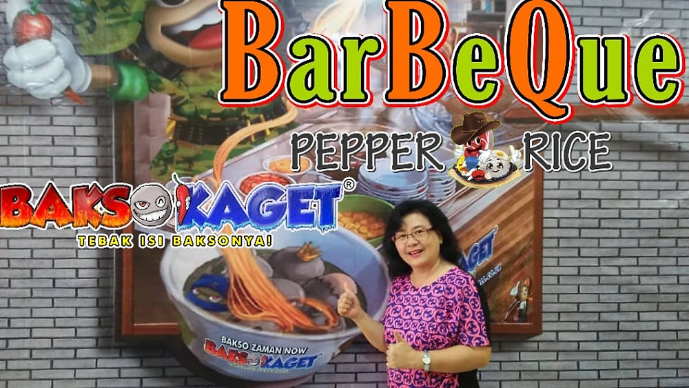 Barbeque Pepper Rice
