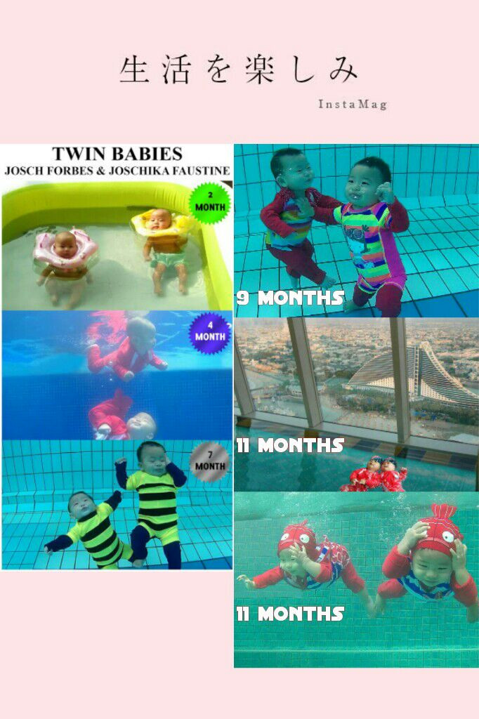 2-11 months Twins of Franchise Mall