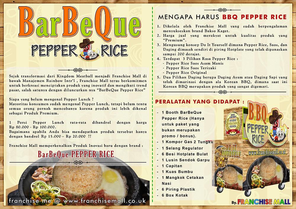 Kemitraan Bisnis BBQ Pepper Rice