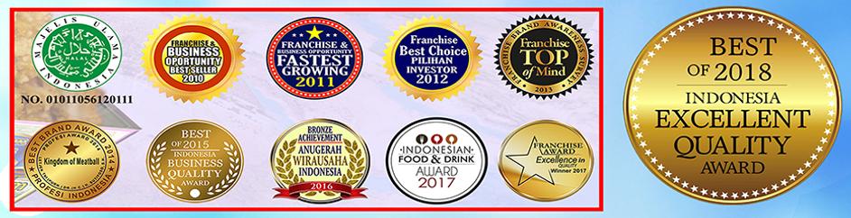 Logo Award Bakso Kaget Terbaru
