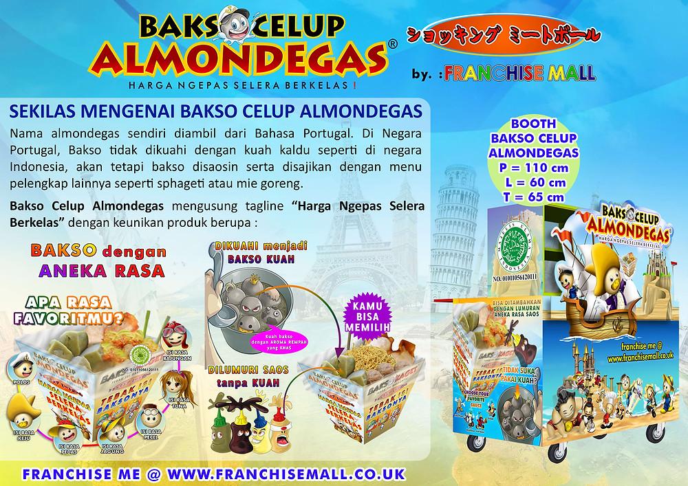 Franchise Bakso - Bakso Celup Almondegas