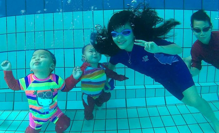 Josch Forbes & Joschika Faustine Underwater