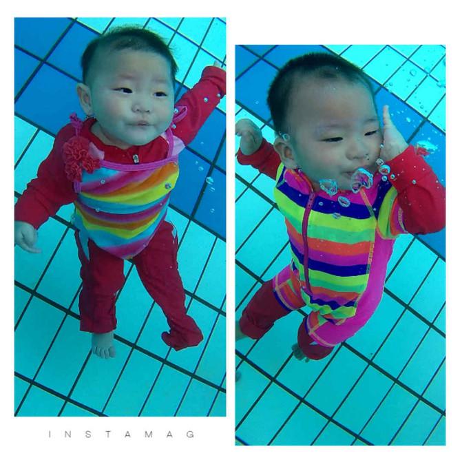 Underwater Twin Babies Josch Forbes & Joschika Faustine Inspiring You to Teach Your Babies to Sw
